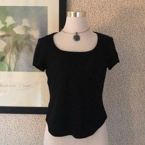 Short sleeve ladies fitted top